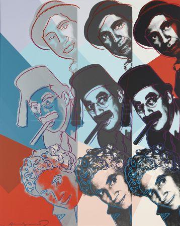 シルクスクリーン Warhol - Marx Brothers (Fs Ii.232)