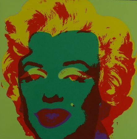 シルクスクリーン Warhol - Marylin monroe