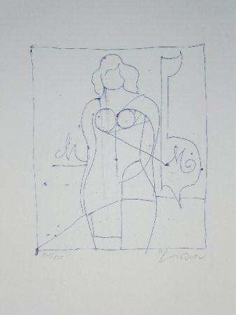 リトグラフ Lindner - Marylin was here 11