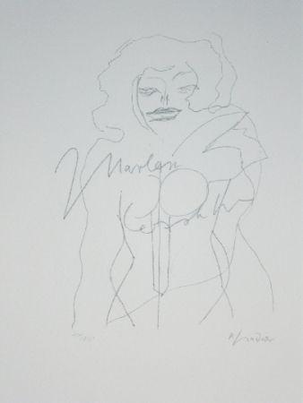 リトグラフ Lindner - Marylin Was Here 12