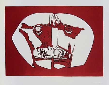 彫版 Guayasamin - Mascara 2