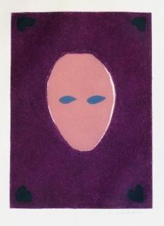 彫版 Scholder - Mask of the Mystery Woman
