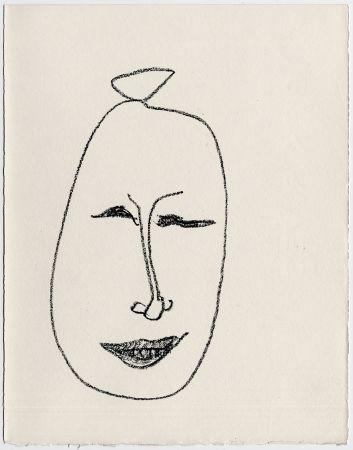 リトグラフ Matisse - Masque esquimau n° 9. 1947  (Pour Une Fête en Cimmérie)