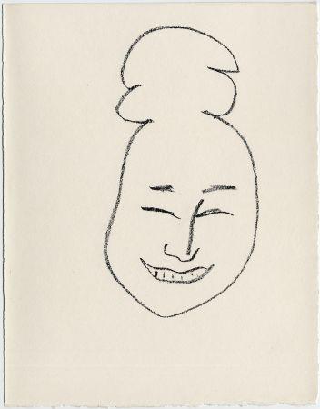 リトグラフ Matisse - Masque esquimo n° 4. 1947  (Pour Une Fête en Cimmérie)