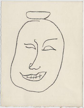 リトグラフ Matisse - Masque esquimo n° 8. 1947 (Pour Une Fête en Cimmérie)