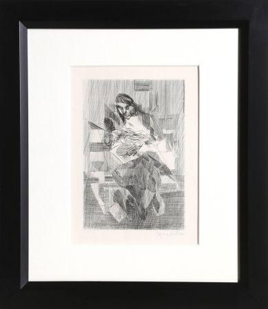彫版 Villon - Maternite