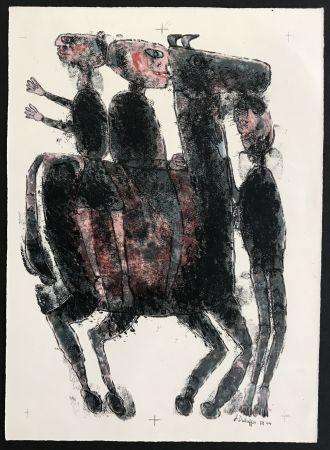 リトグラフ Dubuffet - Matiere et Memoire (ou les lithographes a l'ecole)
