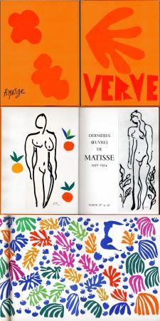 挿絵入り本 Matisse - Matisse dernières oeuvres 1950 - 1954 (VERVE Vol. IX, No. 35-36. 1958)