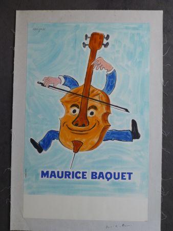 掲示 Savignac - Maurice Baquet violonceliste