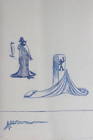 リトグラフ Ernst - Max Ernst (1891-1976). Décervelages, Jarry. 1971. Signé