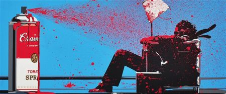シルクスクリーン Mr. Brainwash - Max Spray