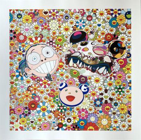 シルクスクリーン Murakami - Me and Double DOB