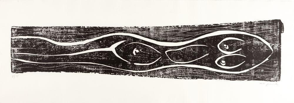 木版 Penck - Meer (Sea)