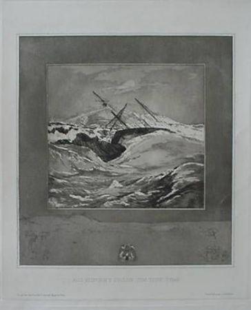 エッチングと アクチアント Klinger - Meer (Sea), from the portfolio Vom Tode