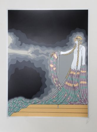 Relief Erte - Melisande from the At the Theater Suite