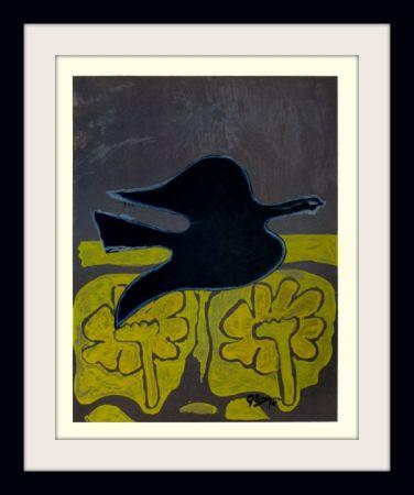 リトグラフ Braque - Menton