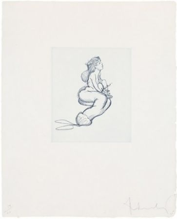 彫版 Oldenburg - Mermaid