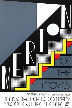 シルクスクリーン Lichtenstein - Merton of the Movies