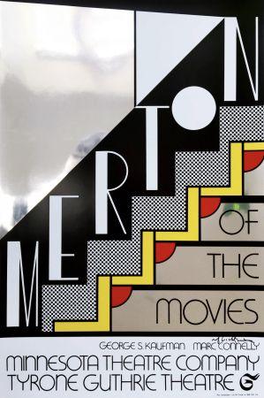 シルクスクリーン Lichtenstein - Merton Of The Movies Poster (Hand Signed)