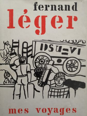 挿絵入り本 Leger - Mes Voyages