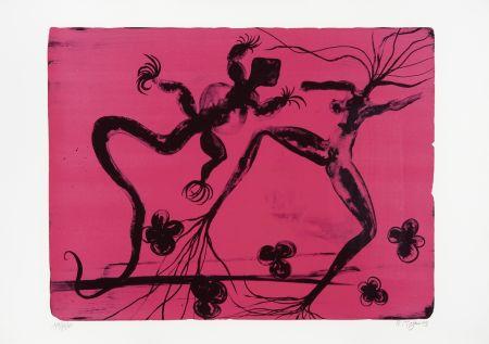 リトグラフ Toguo - Metamorphosis at Dawn