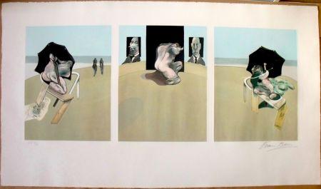 エッチングと アクチアント Bacon - Metropolitan Triptych