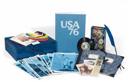 多数の Monory - Michel Butor - USA 76. Bicentenaire Kit - Jacques Monory