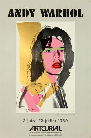 シルクスクリーン Warhol - Mick Jagger