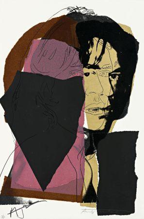 シルクスクリーン Warhol - Mick Jagger (FS II.139)