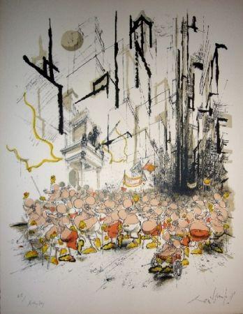 リトグラフ Searle - Mickey Day