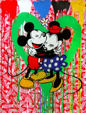 多数の Mr. Brainwash - Mickey & Minnie