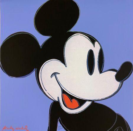 オフセット Warhol - Mickey Mouse