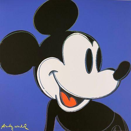 オフセット Warhol - Mickey Mouse (Blue)