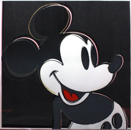 シルクスクリーン Warhol - Mickey Mouse (FS II.265)