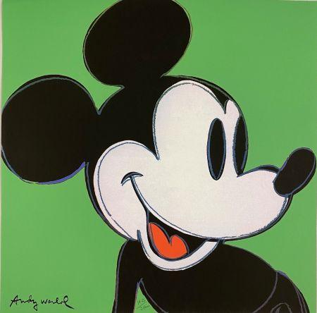 オフセット Warhol - Mickey Mouse (Green)