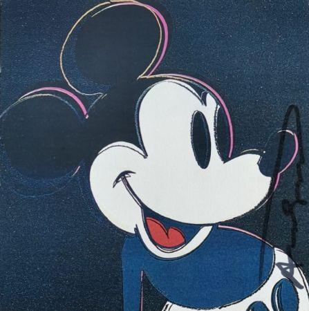 シルクスクリーン Warhol - Mickey Mouse