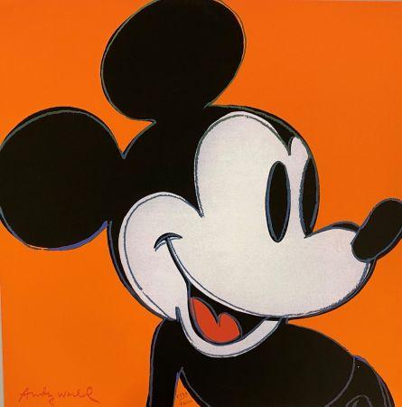 オフセット Warhol - Mickey Mouse (Orange)