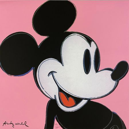 オフセット Warhol - Mickey Mouse (Pink)