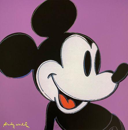 オフセット Warhol - Mickey Mouse (Purple)