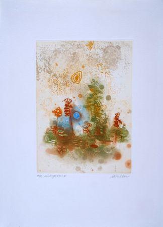エッチング Walker - Midi flowers II