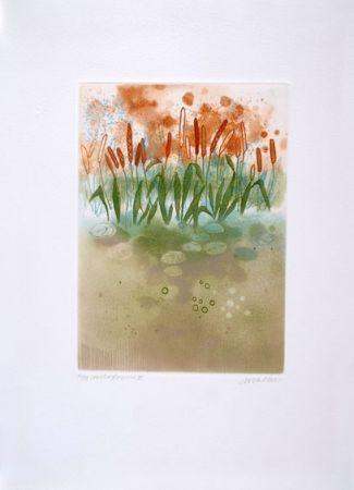 エッチング Walker - Midi flowers III
