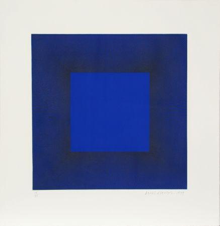 エッチングと アクチアント Anuszkiewicz - Midnight Suite (Blue with Black)