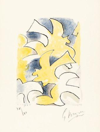 リトグラフ Braque - Migration