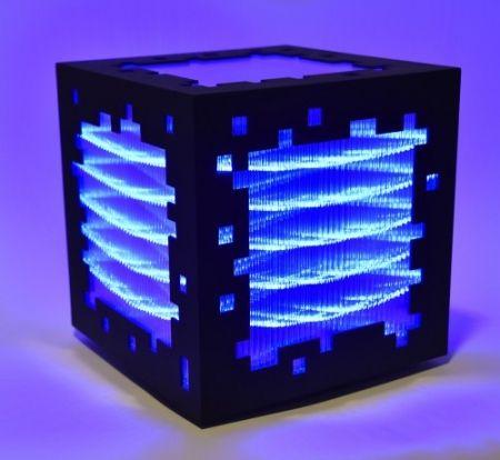 木版 Chevalier - Mini voxels light blue