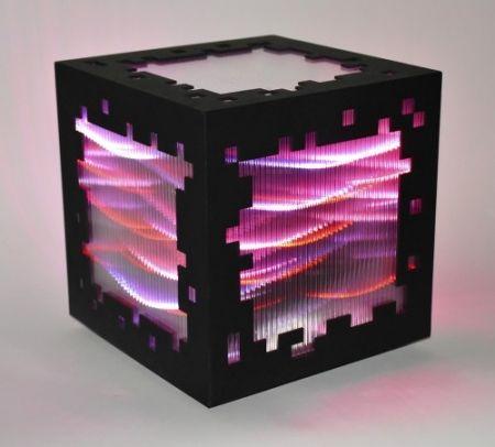 木版 Chevalier - Mini voxels light red