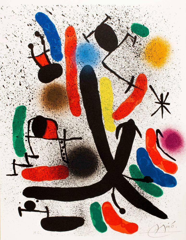 リトグラフ Miró -  Miró lithographe I (Maeght 855)