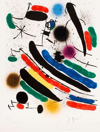 技術的なありません Miró - Miró lithographe I (Maeght 856)