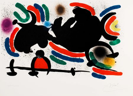 技術的なありません Miró -  Miró lithographe I (Maeght 860)