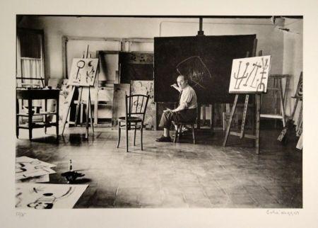 写真 Scheidegger - Miro im Atelier