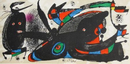 リトグラフ Miró - Miro sculpteur, angleterre